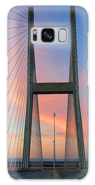 Up On The Bridge Galaxy Case by Kathryn Meyer