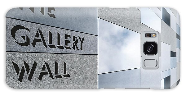 Galaxy Case featuring the photograph Up The Wall-the Gallery Wall Logo by Wendy Wilton