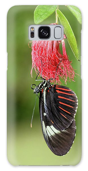 Upon A Red Blossom Galaxy Case