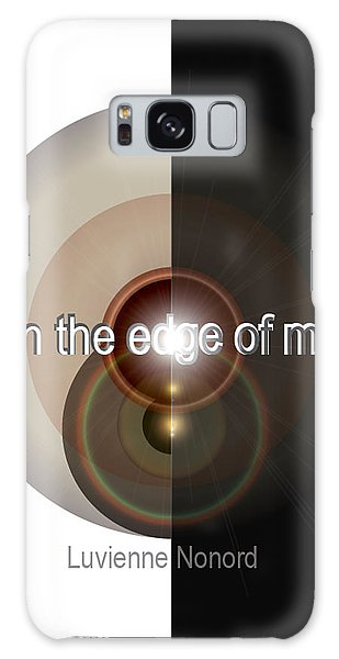 Upon The Edge Of Mercy04 Galaxy Case