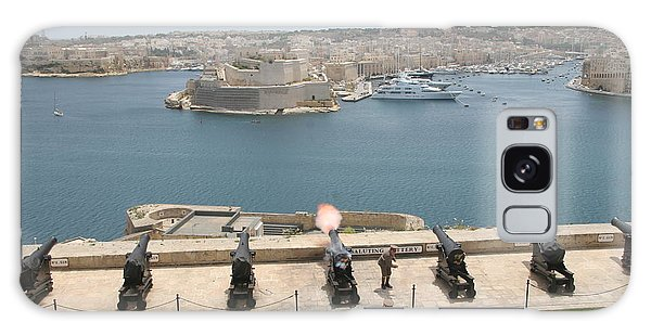 Galaxy Case featuring the photograph Upper Barrakka Saluting Battery by Travel Pics