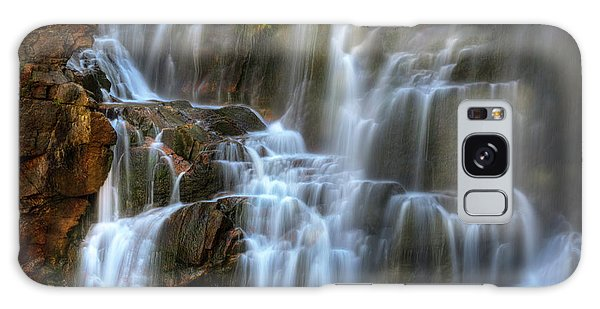 Upper Beartooth Falls Galaxy Case