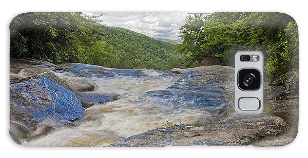 Upper Creek Waterfalls Galaxy Case
