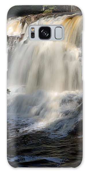 Upper Falls Gooseberry River 2 Galaxy Case
