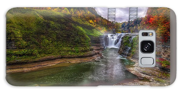 Upper Falls In Fall Galaxy Case