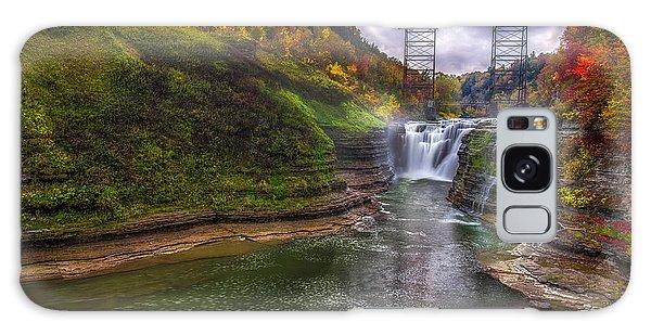 Upper Falls In Fall Galaxy Case