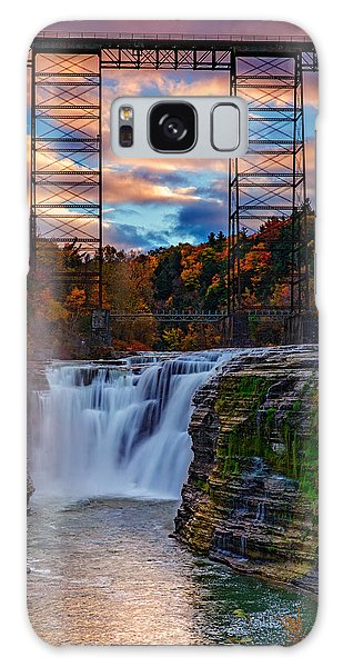 Upper Falls Letchworth State Park Galaxy Case