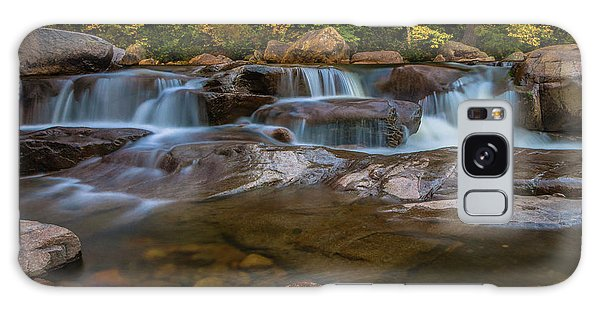 Upper Swift River Falls In White Mountains New Hampshire Galaxy Case