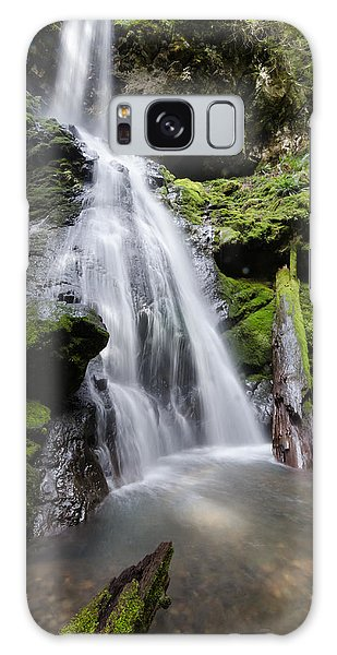 Upper Trestle Creek Falls Galaxy Case
