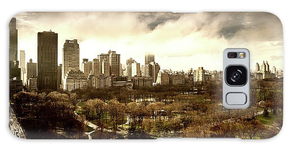 Upper West Side Of New York In Spring Galaxy Case