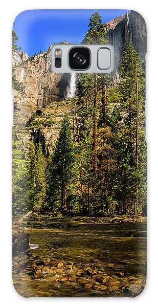 Upper Yosemite Falls From Yosemite Creek Galaxy Case