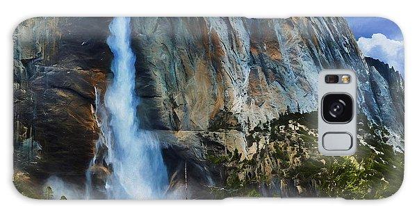 Upper Yosemite Falls Galaxy Case