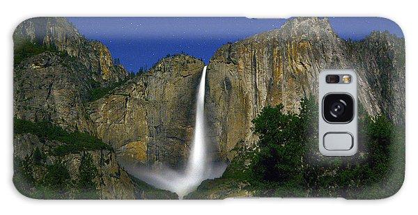 Upper Yosemite Falls Under The Stairs Galaxy Case