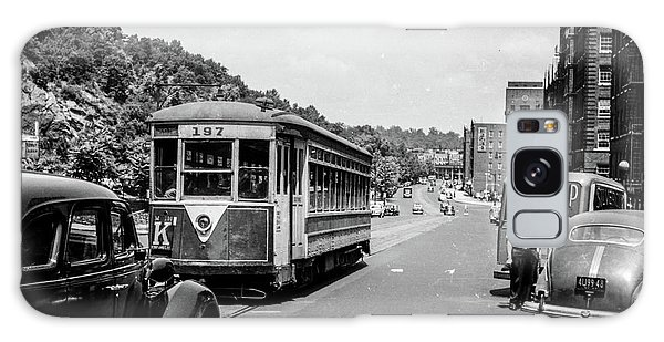 Galaxy Case featuring the photograph Uptown Trolley Near 193rd Street by Cole Thompson