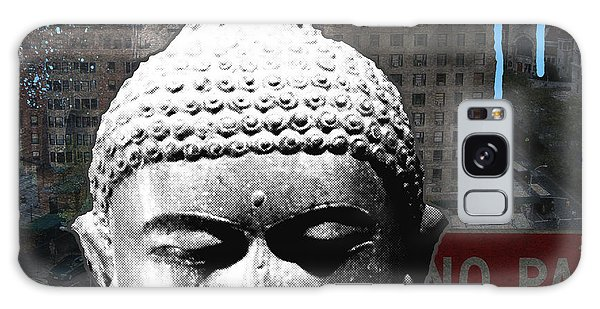 Peaceful Galaxy Case - Urban Buddha 4- Art By Linda Woods by Linda Woods