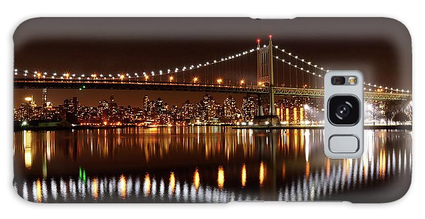 Urban Night Reflection Galaxy Case