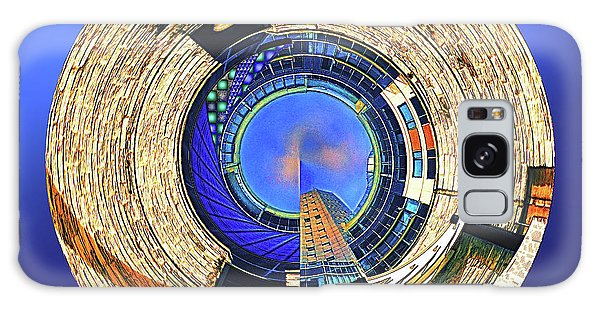 Galaxy Case featuring the digital art Urban Order by Wendy J St Christopher