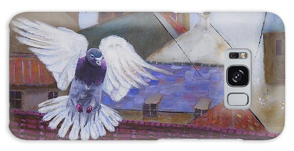 Urban Pigeon Galaxy Case
