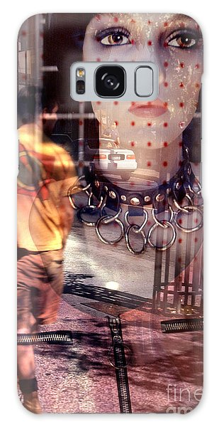 urban streetscapes - People Watching Galaxy Case