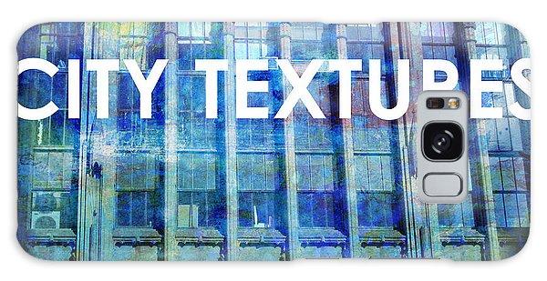 Urban Textures Blue Broadway Galaxy Case