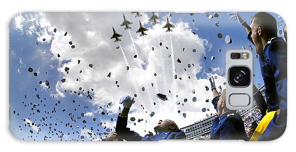 Galaxy Case featuring the photograph U.s. Air Force Academy Graduates Throw by Stocktrek Images