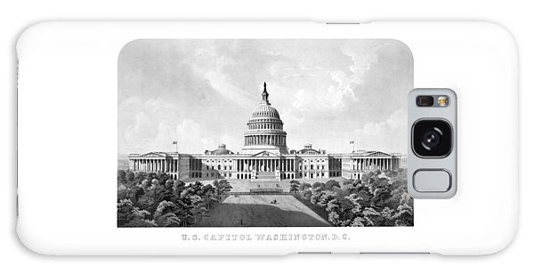 Us Capitol Building - Washington Dc Galaxy Case