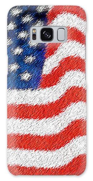 U.s. Flag Galaxy Case