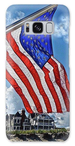 Us Flag,ocean Grove,nj Flag Galaxy Case by Joan Reese