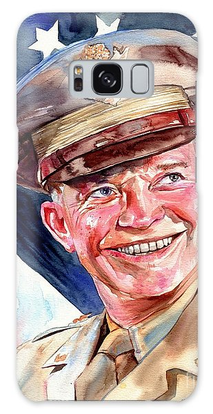 Joseph Galaxy Case - Us General Dwight D. Eisenhower by Suzann's Art