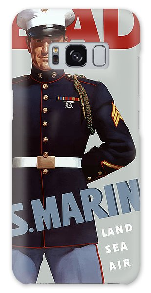 Americana Galaxy Case - Us Marines - Ready by War Is Hell Store