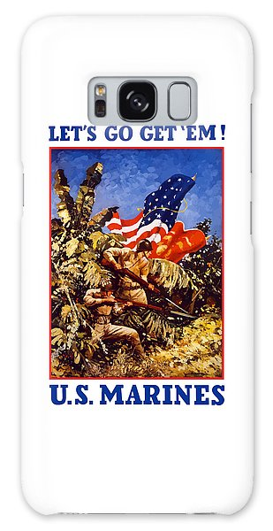 Battle Galaxy Case - Us Marines - Ww2  by War Is Hell Store