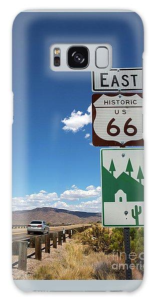 Us Route 66 Sign Arizona Galaxy Case