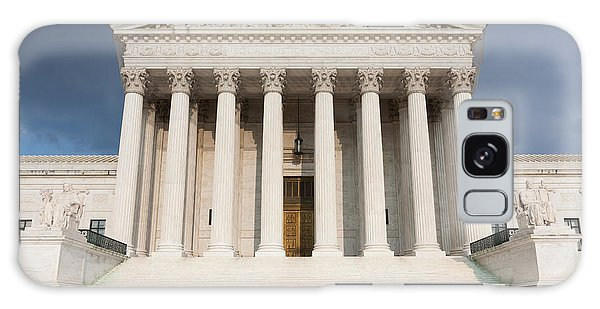 Us Supreme Court Building V Galaxy Case by Clarence Holmes