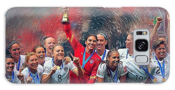 Us Women's Soccer Galaxy Case