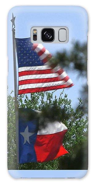Usa Blesses Texas Galaxy Case