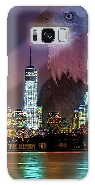 Usa Land Of The Free Galaxy Case by Susan Candelario