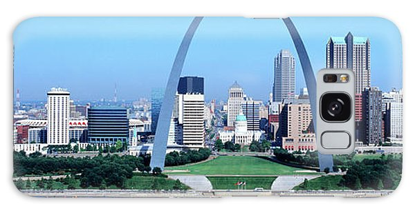 St Louis Mo Galaxy Case - Usa, Missouri, St. Louis, Gateway Arch by Panoramic Images
