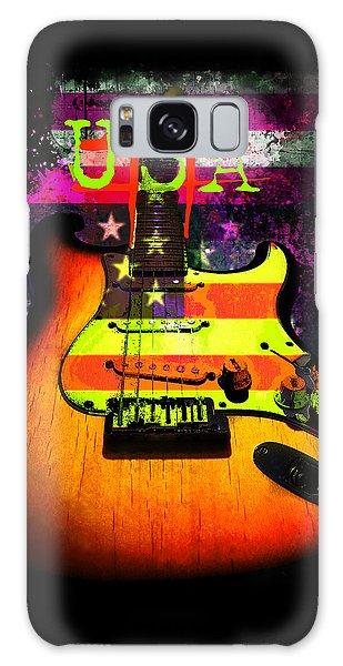Usa Strat Guitar Music Galaxy Case