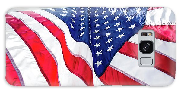 Usa,american Flag,rhe Symbolic Of Liberty,freedom,patriotic,hono Galaxy Case