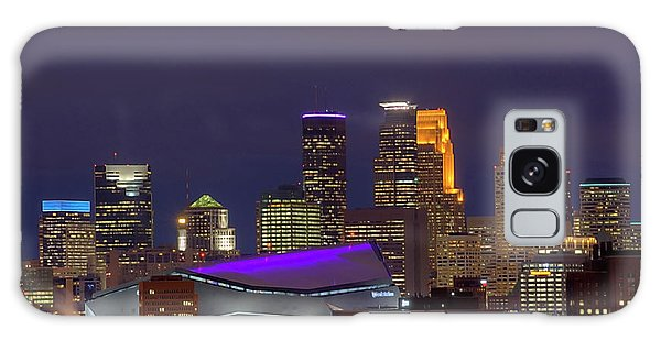 Usbank Stadium Dressed In Purple Galaxy Case