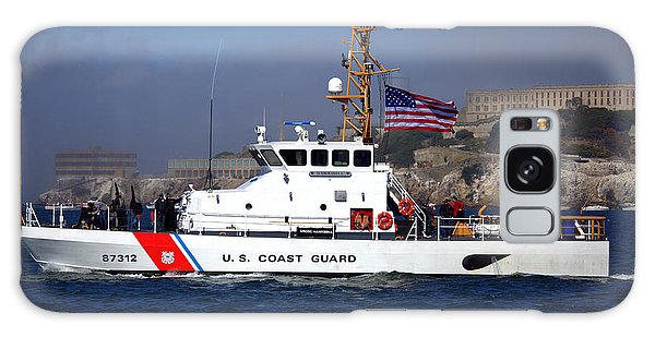 Galaxy Case featuring the photograph Uscg Hawksbill Patrols San Francisco Bay During Fleet Week by John King