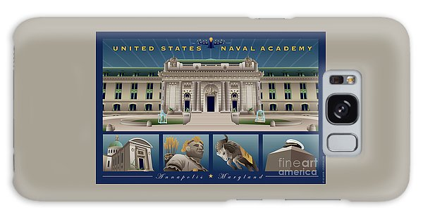Usna Monuments Tribute 2 Galaxy Case