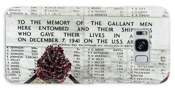 U.s.s. Arizona Memorial Galaxy Case