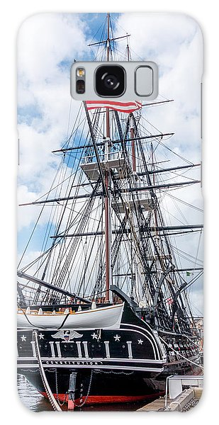 Galaxy Case featuring the photograph Uss Constitution by SR Green