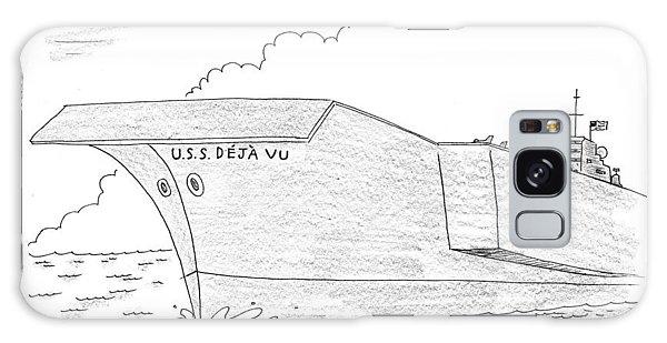 U.s.s. Deja Vu Galaxy Case by Mick Stevens