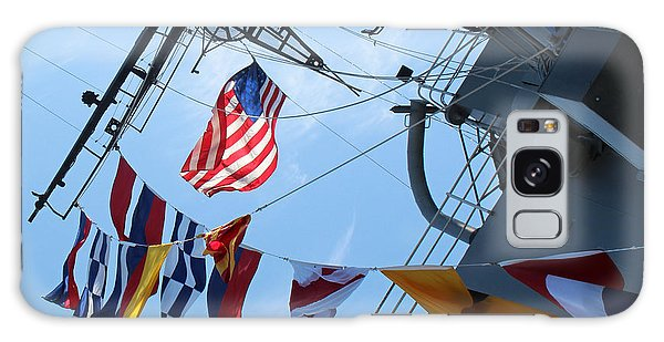 Uss Midway Flag Galaxy Case