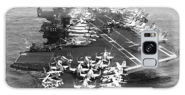 1972 Galaxy Case - Uss Midway Leaves Sf by Underwood Archives