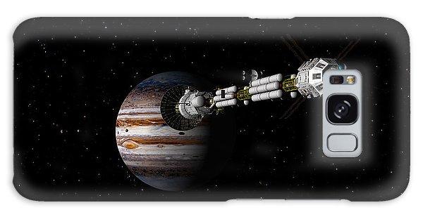 Uss Savannah Approaching Jupiter Galaxy Case by David Robinson