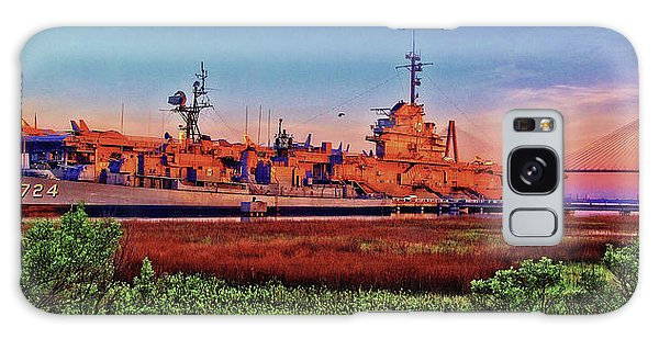 Uss York Town Galaxy Case