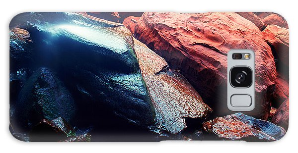 Utah - Emerald Pool Boulders Galaxy Case